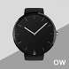 Black Classic Watch Face by Fast Team