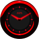 Laser Clock ANDROID RED by memscape