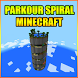 Parkour Spiral Map For MCPE by Incredible mods????