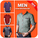 Men Casual Shirt Photo Suit by Dabster Apps