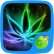 color weed Rasta GO Keyboard theme by dude pps
