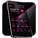 Pink Black Theme by Cool Themes & Wallpapers 2017