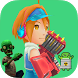 Super Girl Vs Zombies Fight by Puzzler BOT