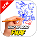 How to Draw FNAF Characters by xoddox