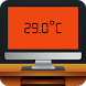 Thermometer on iMac by AppsNewEra