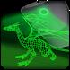 Dragon hologram laser camera by ODVgroup