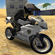 Police Motorbike Desert City by Game Pickle