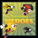 Jumping Heroes by Sebastian Haba