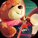 Teddy Bear Zipper Lock Screen by AquaKing