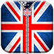 UK Flag Zipper Lock Screen by 10/4 Entertainment