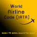 World Airline Code (IATA) by Travel and Education