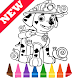 Learn Draw Coloring for Paw for Patrol by Fans