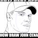 How To Draw John Cena