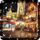 2018 Christmas Snow night city live wallpaper
