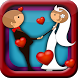 Wedding Couple Kiss by funny games