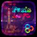 Paris Love GO Launcher Theme by Freedom Design