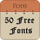 50 Fonts for Samsung Galaxy 13 by Free Font Style for Android