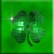 Sparkle Green Shamrocks Live by HiTechPilot