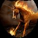 Unicorn with fiery mane LWP by Firamo