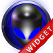 Poweramp Widget Blue Alien by Maystarwerk Skins & Widgets Vol.1
