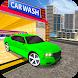 Car Wash Service Station: Car Driver