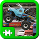 Puzzles: Monster Trucks by Torima Kids Puzzles