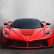 Red Ferrari Wallpaper by HomeLand Studios
