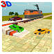 Car Transporter Cargo Train 3D by Gamelord
