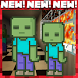 Zombie attack! Minecraft map by Katayama apps