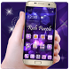 Bling Rich Purple Launcher by Cool Wallpaper