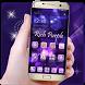 Bling Rich Purple Launcher by Cool Wallpaper