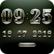 SENTIMEN Digital Clock Widget by memscape