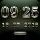 SENTIMEN Digital Clock Widget by memscape