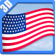 3D FLAGS USA by CRANKJOY STUDIO