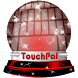 Red oracle TouchPal Theme by Keyboard Emoji Themes