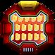 Red Iron Steel Robots Keyboard Theme by Brandon Buchner