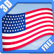 3D FLAGS USA FREE by CRANKJOY STUDIO