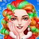 Christmas Girl Makeup Dressup