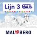 Lijn 3 by Uitgeverij Malmberg