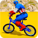 Superheroes Bmx Racing: Bicycle Xtreme Stunts by Let's Game