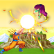 goku saiyan fight warrior Z by 3d-smart