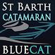 St Barth BlueCat Catamaran by ZeeAtelier