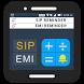 SIP/EMI Calculator & Reminder