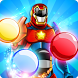 Super Hero Bubble Shooter by Gems Candy Candy