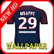Kylian Mbappé Wallpaper Football Player by Football Players Wallpaper