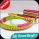 300 Silk Thread Bangles Ideas by appsdesign
