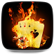 Burning Cards Live Wallpaper by Lorenzo Stile Designer