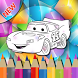 Learn Coloring Mcqueen For Kids by Childkids Mania