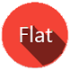 Red Flat Theme-CM12/12.1 Theme by dimusa
