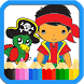 Jake The Pirates Coloring Book by HopperDev